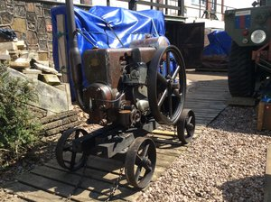 1943 Ruston-Hornsby 9BP Vintage Petrol Engine For Sale