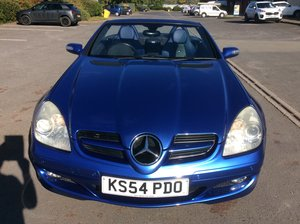 2005 Mercedes 350 slk designo with manual gearbox.