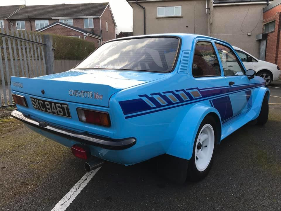 1979 vauxhall chevette 16v sold car and classic 1979 vauxhall chevette 16v sold car