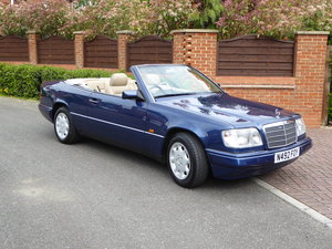 1995 Mercedes  E220 Cabriolet A124 Immaculate For Sale