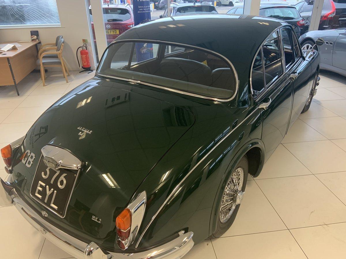 1962 Jaguar MK2 3.4 For Sale (picture 2 of 6)