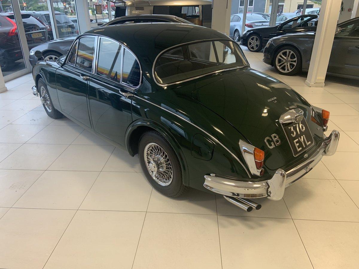 1962 Jaguar MK2 3.4 For Sale (picture 4 of 6)