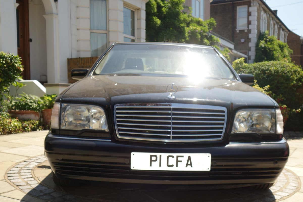 1997 Mercedes S600 V12  Owned 15years For Sale (picture 2 of 6)