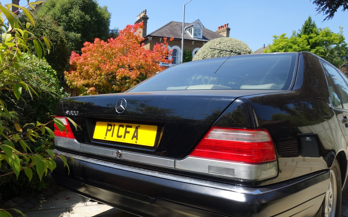 1997 Mercedes S600 V12  Owned 15years For Sale (picture 4 of 6)