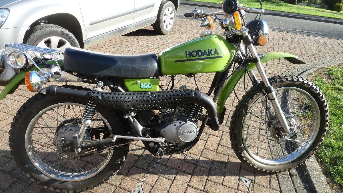 1975 HODAKA  :- ROAD TOAD SOLD (picture 6 of 6)