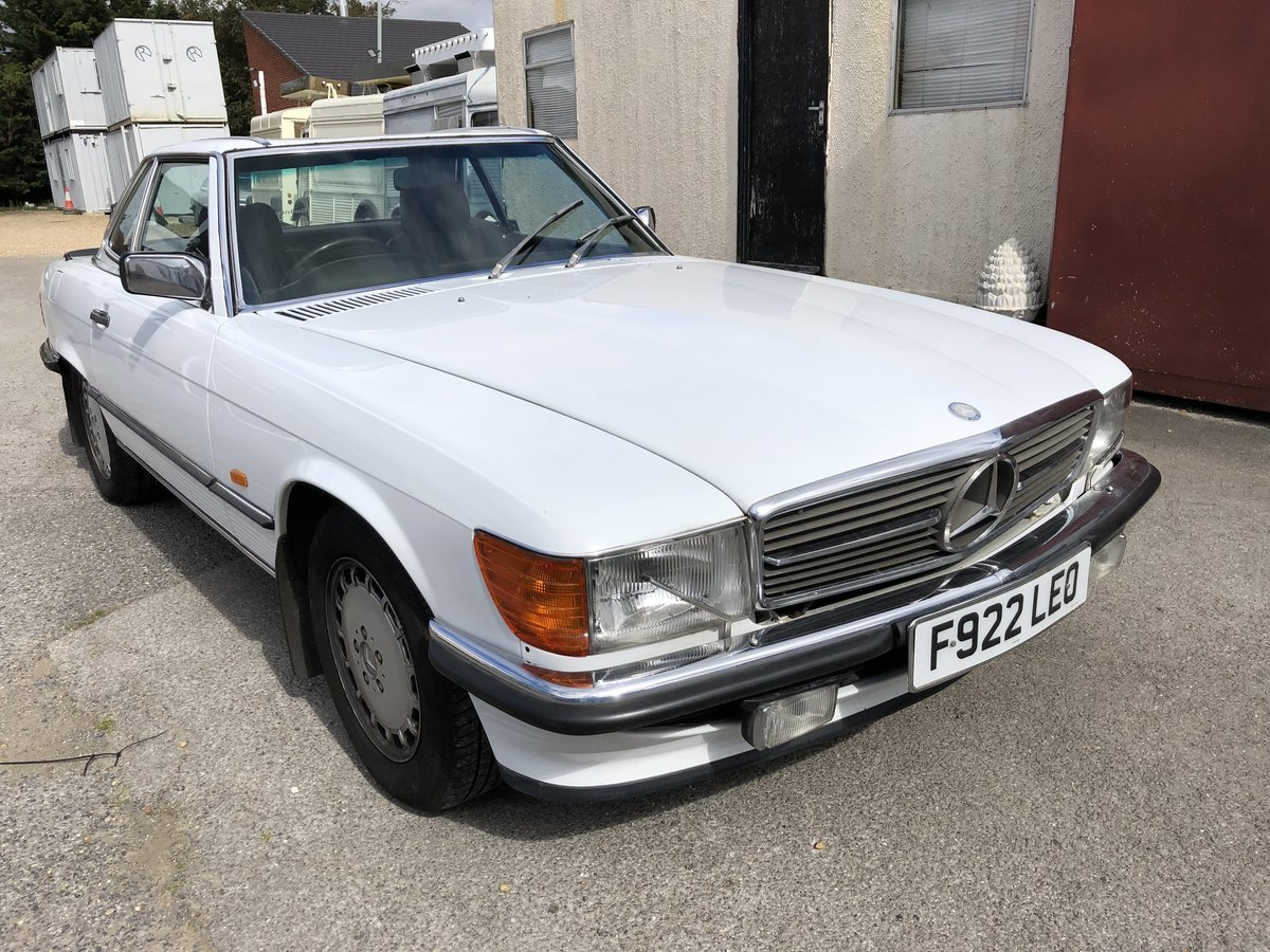1989 MERCEDES 420SL  For Sale (picture 1 of 6)