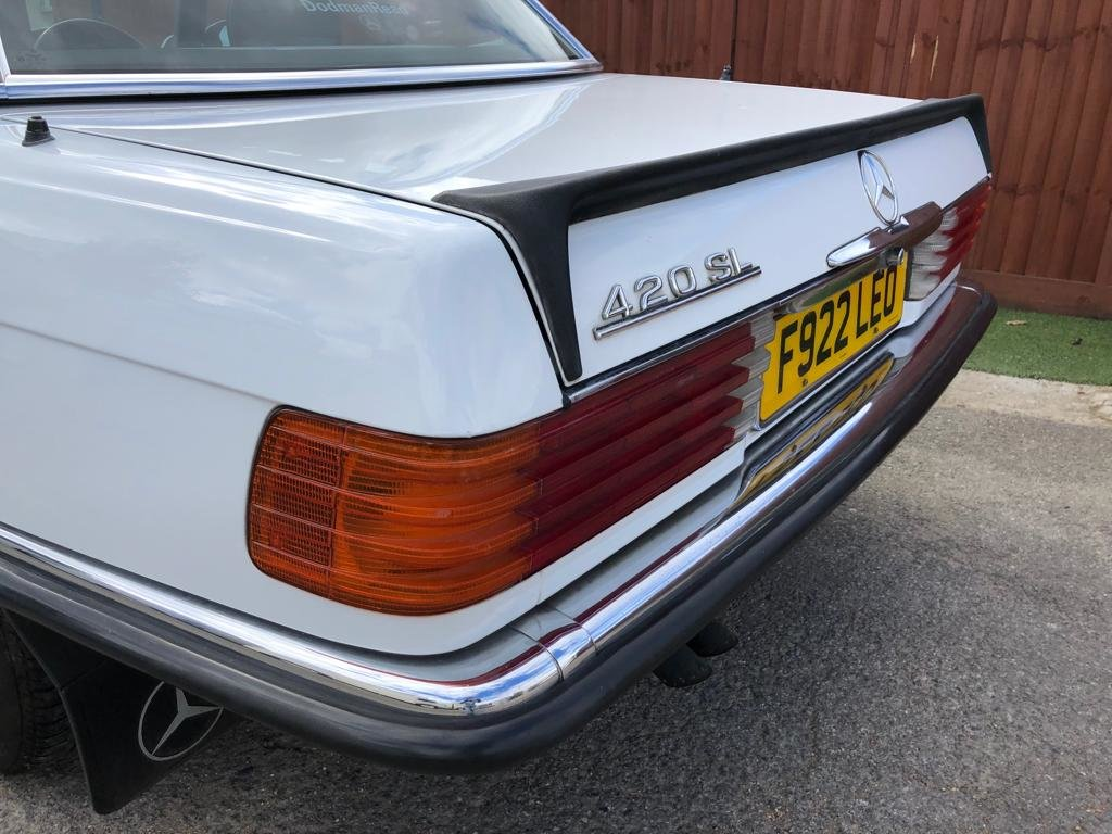 1989 MERCEDES 420SL  For Sale (picture 4 of 6)