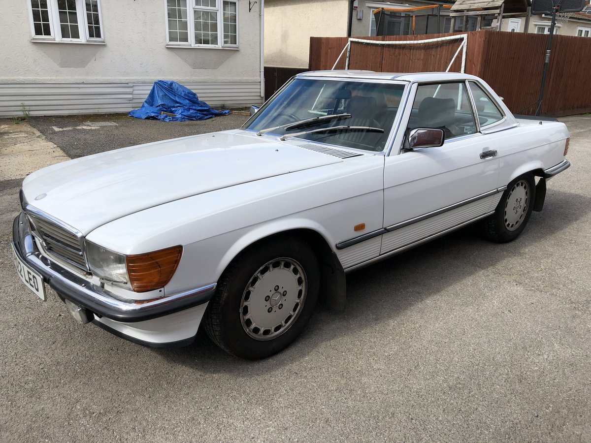 1989 MERCEDES 420SL  For Sale (picture 6 of 6)