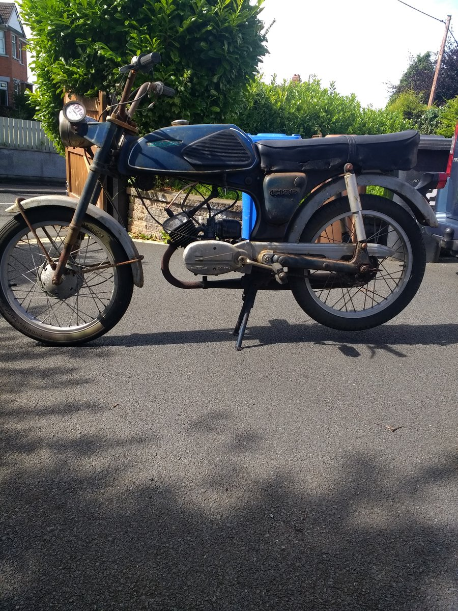 1974 Casal moped, fizzy style motorcycle For Sale (picture 1 of 6)