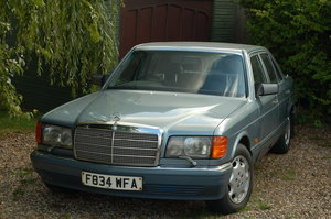 1989 Mercedes 300se W126 Diesel conversion OM603