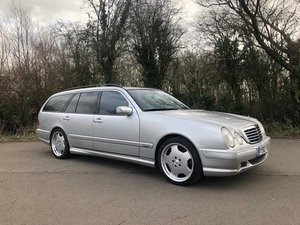 2001 MERCEDES BENZ W210 E55 AMG ESTATE