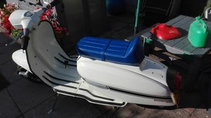 1981 Lambretta Scooter nearly finished poss delivery