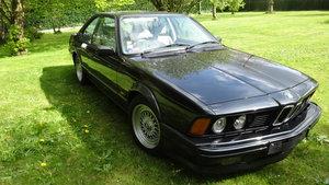 1989 Bmw 635 csi a  For Sale