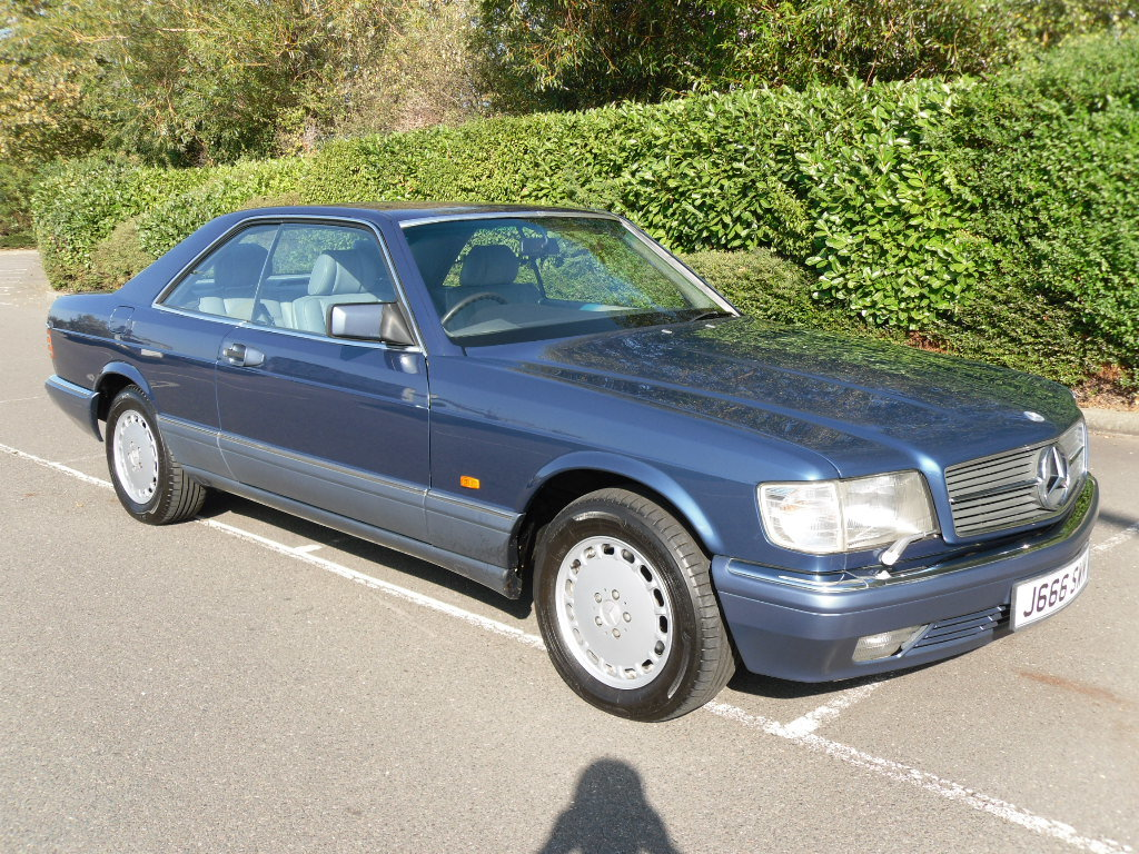 1992 Mercedes 500 SEC  For Sale (picture 4 of 6)