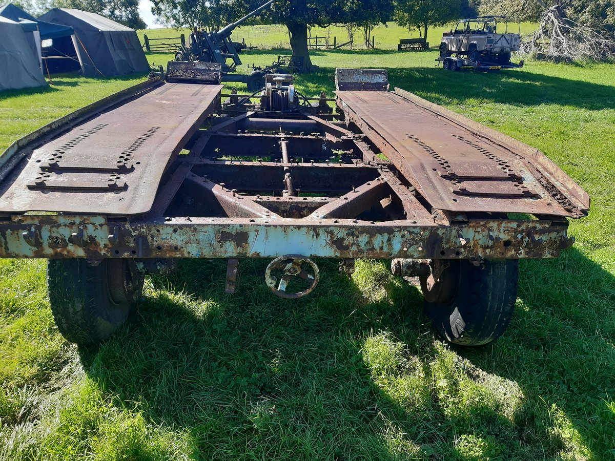 1940 Cranes 7 1/2 tonne recovery trailer For Sale (picture 1 of 1)