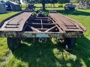 1940 Cranes 7 1/2 tonne recovery trailer For Sale