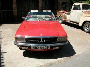 1979 Mercedes 350 SL Hard & Soft Tops, Sold as project