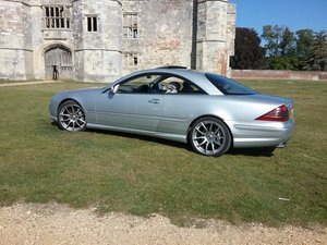 2002 Mercedes CL55 AMG kompressor For Sale