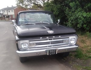 1962 Ford F100 Unibody For Sale
