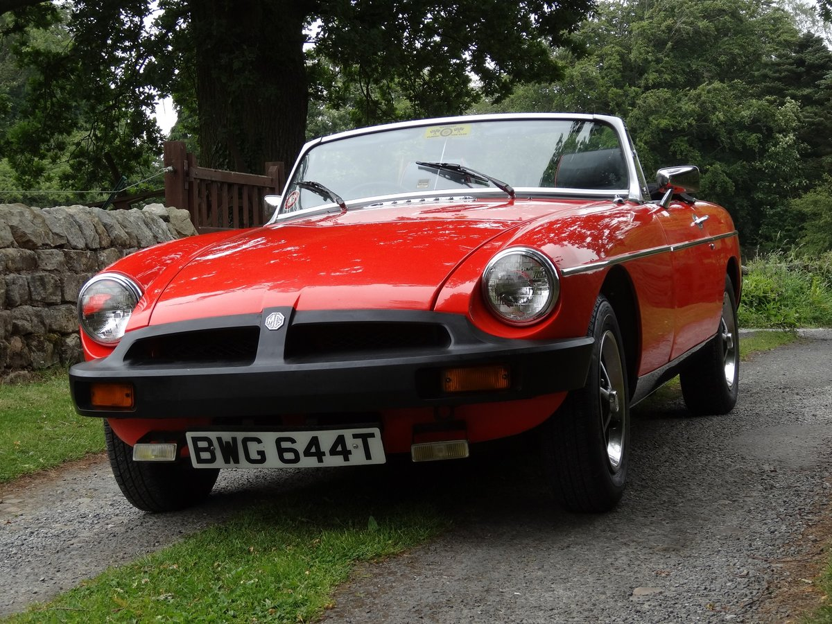 1979 MGB Roadster in beautiful condition. Low mile SOLD (picture 1 of 6)