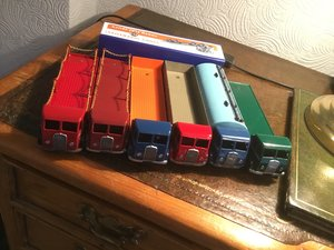 6 superb 1947 dinky foden selling collection For Sale