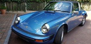 1975 Porsche 911S 2.7 Targa LHD California car For Sale