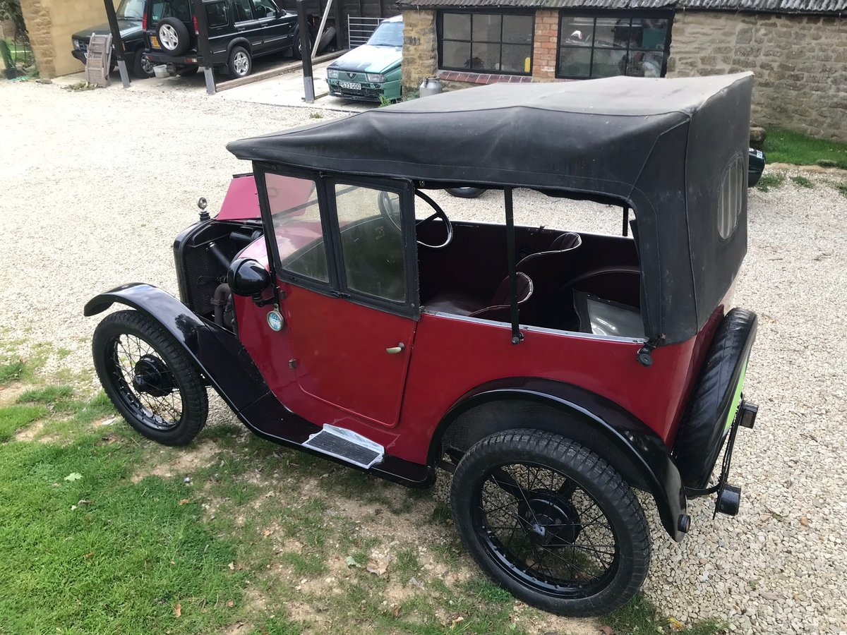 1928 Austin Seven  Chummy  For Sale (picture 4 of 6)