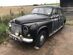 1955 Rover P4 excellent project or spares. For Sale