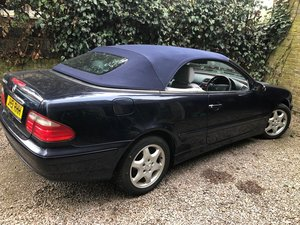 2001 Mercedes Benz CLK 320 full service history For Sale