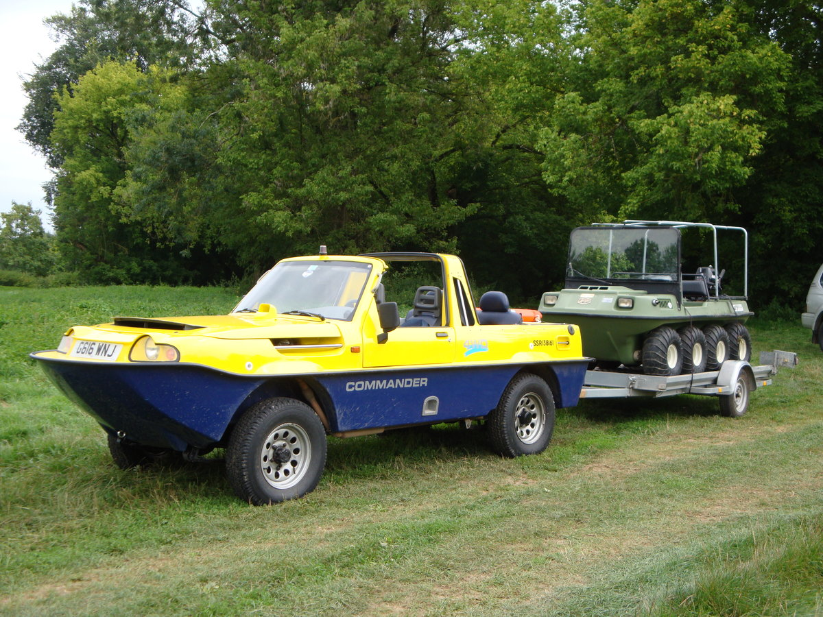1990 Dutton Commander 4x4 Amphibious For Sale (picture 6 of 6)