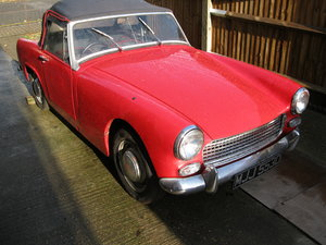 1966 Austin Healey Sprite Mk.3 Good condition.