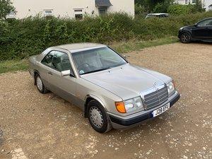 1992 Mercedes Benz 230 CE Pillarless Coupe