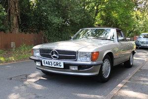 1987 Mercedes SL 420