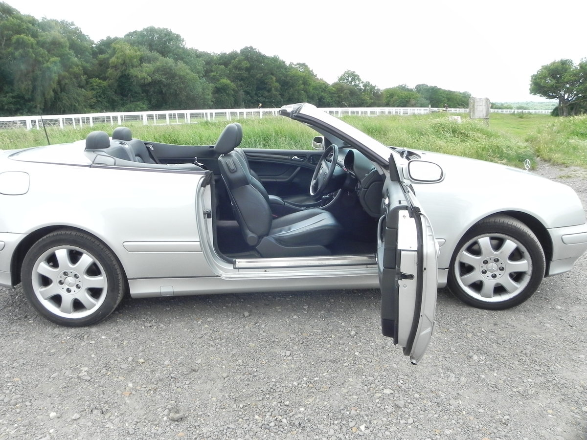 2000 Mercedes-Benz cabriolet Rare  For Sale (picture 4 of 6)
