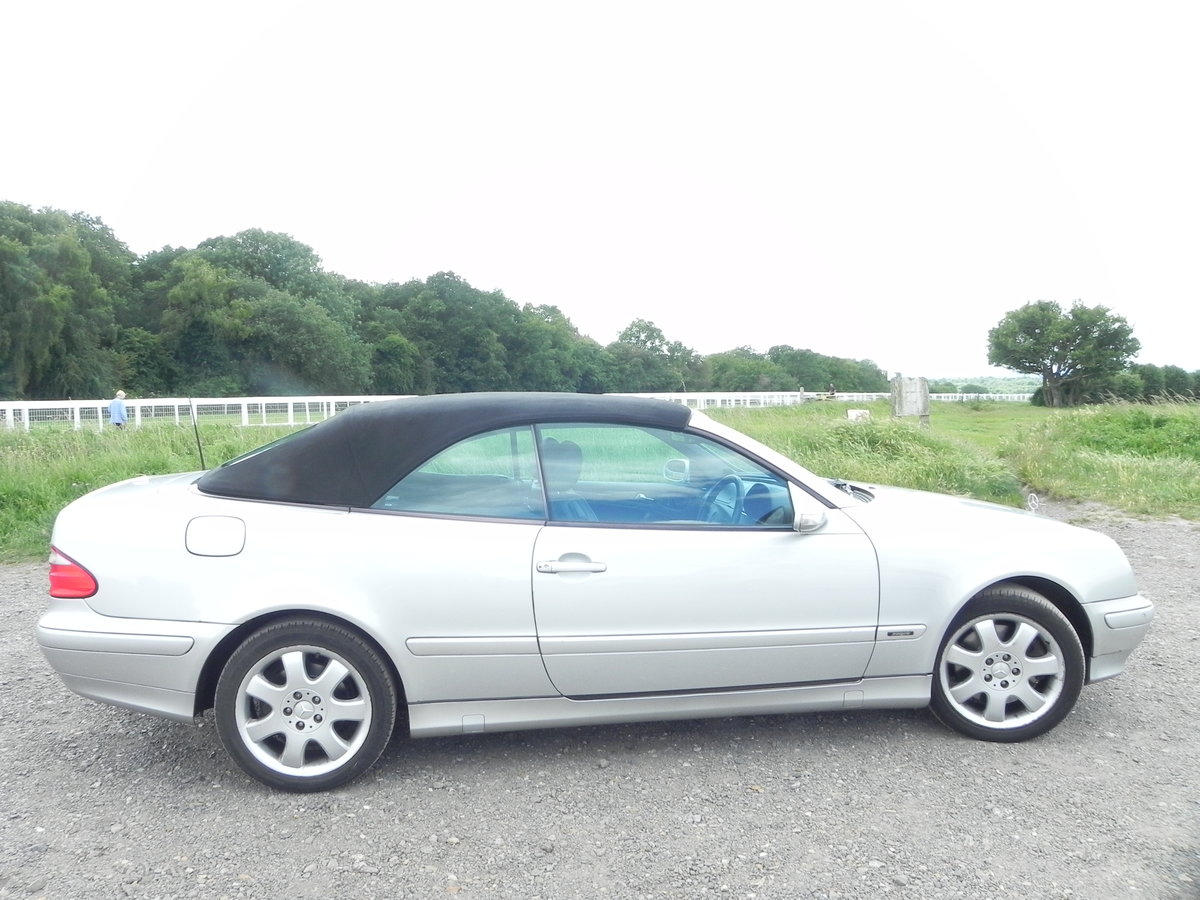 2000 Mercedes-Benz cabriolet Rare  For Sale (picture 5 of 6)