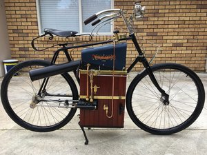 1896 Roper Steam Bicycle Replica. For Sale