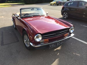 1970 TR6 Beautiful  For Sale