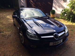 2008 Mercedes SL500 5,5 7G Auto convertible New shape