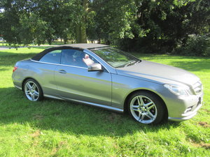 2011 Mercede E350 CDI convertible with full history  For Sale