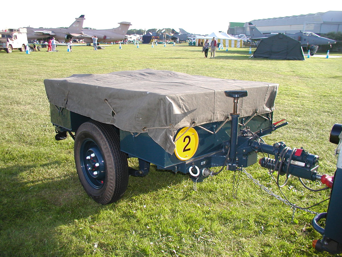 1954 1/2 ton Sankey trailer RAF For Sale (picture 1 of 6)