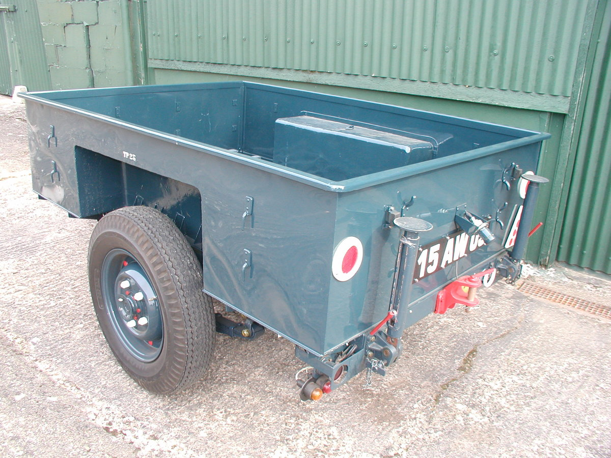 1954 1/2 ton Sankey trailer RAF For Sale (picture 2 of 6)