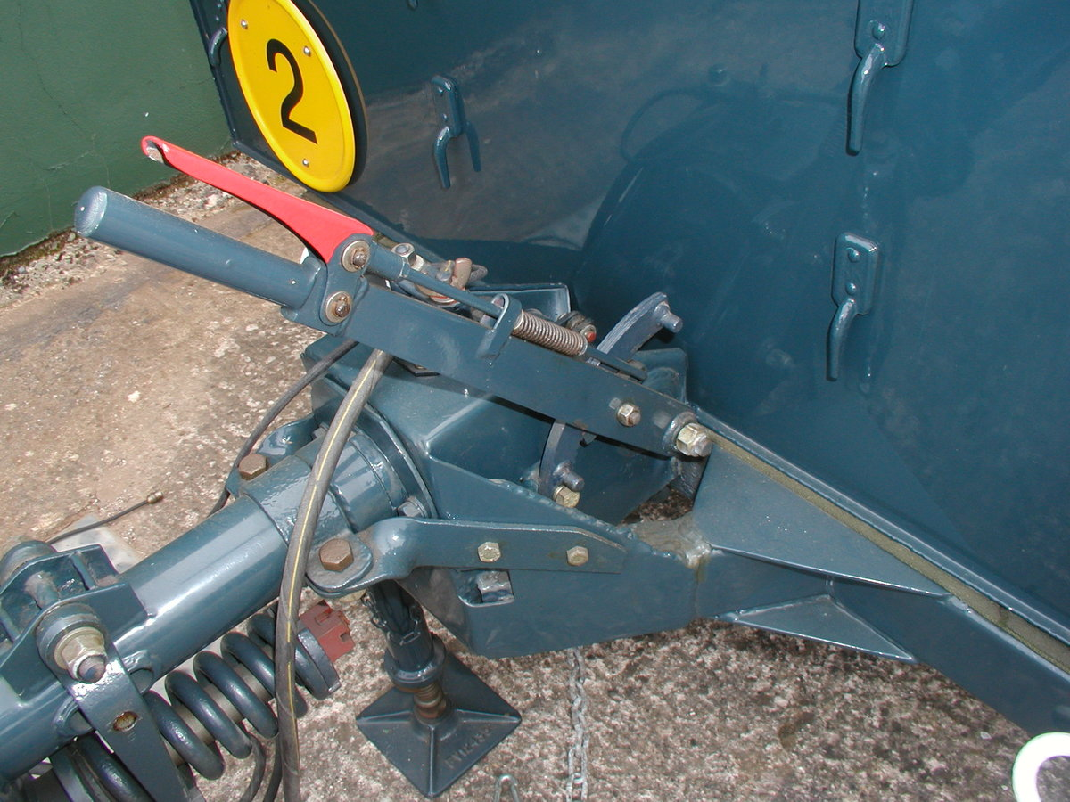 1954 1/2 ton Sankey trailer RAF For Sale (picture 4 of 6)