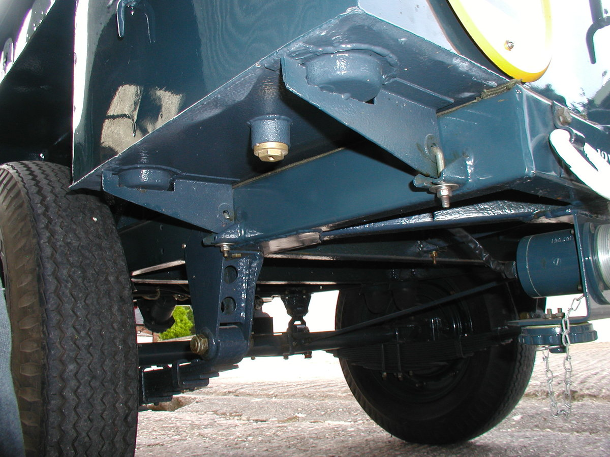 1954 1/2 ton Sankey trailer RAF For Sale (picture 6 of 6)