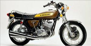1974 Kawasaki h1 500  kh500