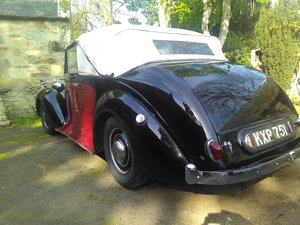 1947 daimler drophead For Sale