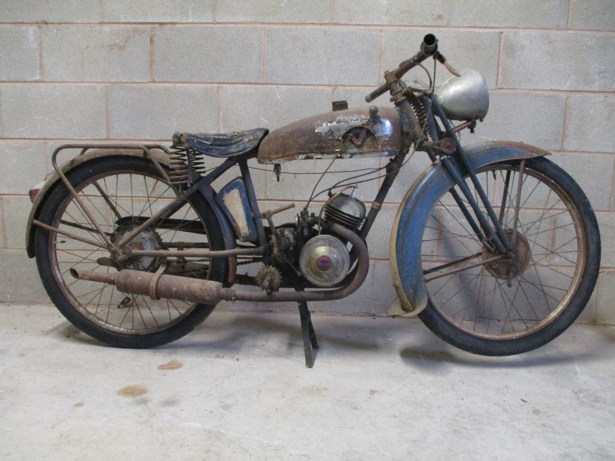 1936 Monet Goyon S3, 100cc, Classic French Motorcycle For Sale (picture 1 of 6)