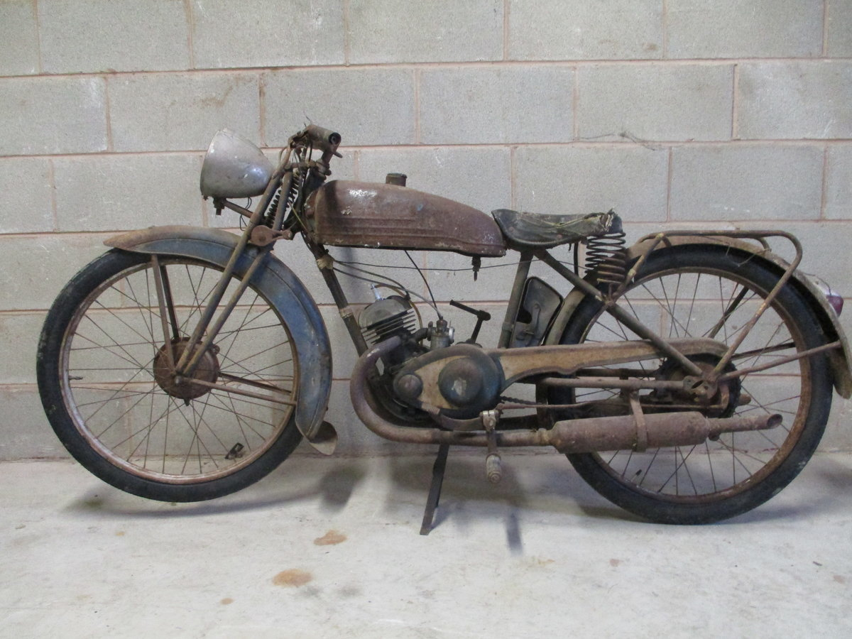 1936 Monet Goyon S3, 100cc, Classic French Motorcycle For Sale (picture 2 of 6)