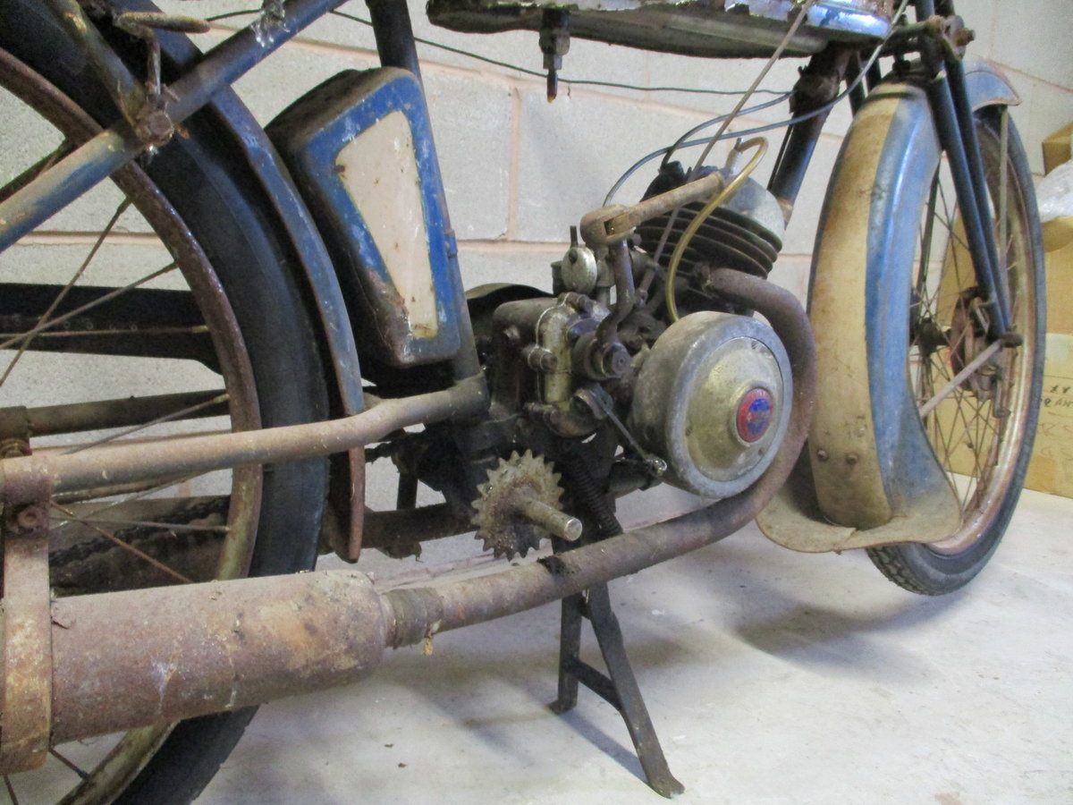 1936 Monet Goyon S3, 100cc, Classic French Motorcycle For Sale (picture 3 of 6)