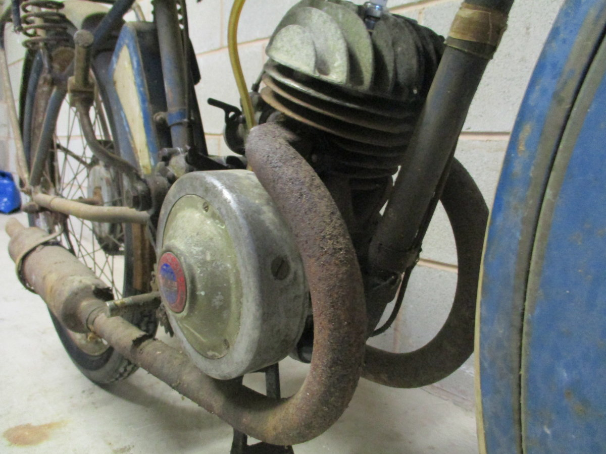 1936 Monet Goyon S3, 100cc, Classic French Motorcycle For Sale (picture 5 of 6)