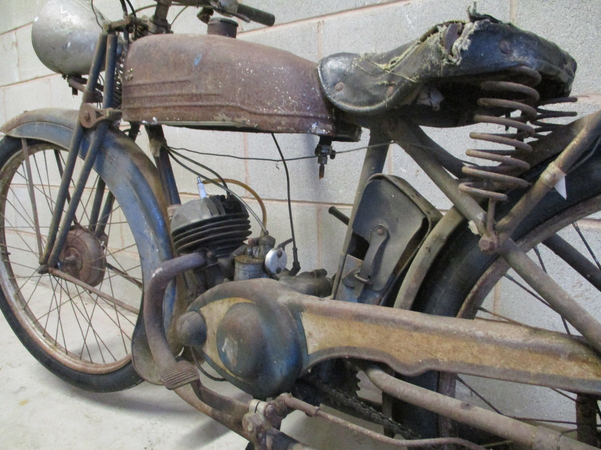 1936 Monet Goyon S3, 100cc, Classic French Motorcycle For Sale (picture 6 of 6)